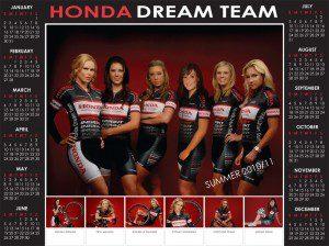 Team Calendar Summer 2011